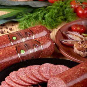 Колбаса полукопченая «Бахчисарайский», в \ с за 1 кг