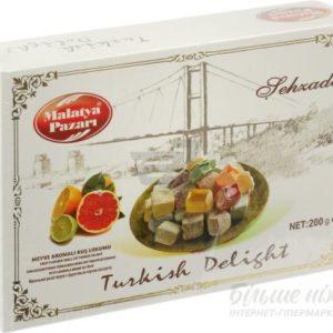 Фото - Турецький рахат-лукум Malatya Pazari Sehzade Фруктовий аромат 200 г