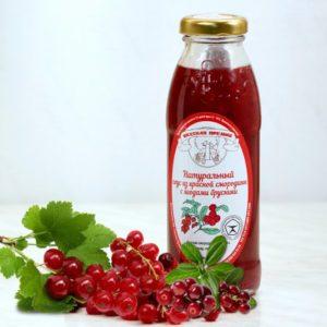 Фото - Соус натуральный из смородины и ягод брусники 330 г