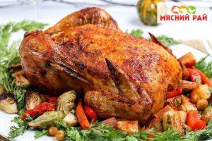 Як приготувати курку в духовці