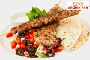 Блюдо из баранины на мангале