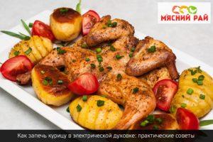 Как запечь курицу в электрической духовке: практические советы
