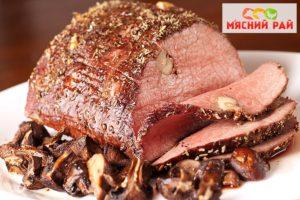 Фото - Запеченное мясо в духовке
