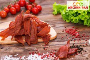 Фото - Рецепт вяленого мяса