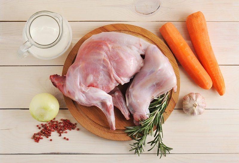 блюда из ножек кролика