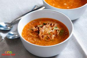 суп з філе індички