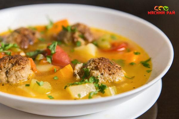 суп с фрикадельками из баранины