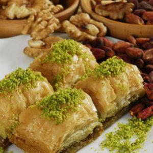 Фото - Пахлава с грецким орехом за 100 гр