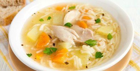 суп з курячих ніжок