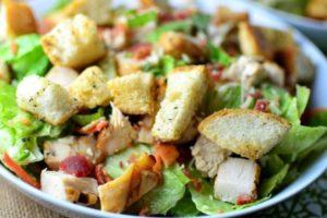 салат з філе індички