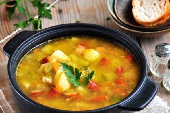 суп з баранячих реберець