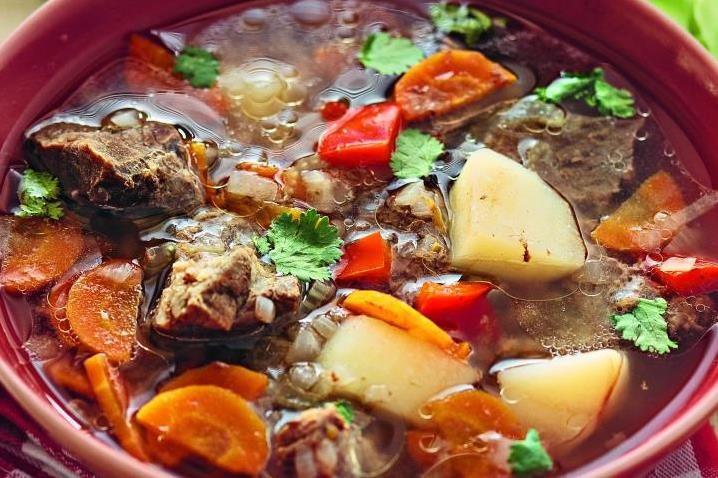 суп с бараньими ребрышками