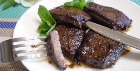 страви з баранячої печінки
