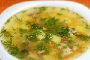 суп з кролика
