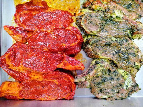 telatina steak v marinade