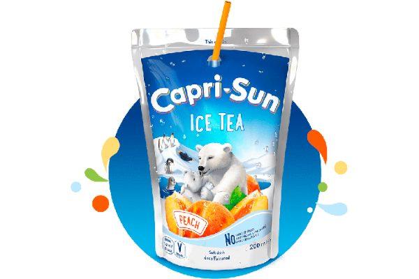 capri sun ice tea